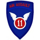 11th Air Assault Patch/Small