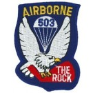 503rd A/B Div Patch/Small