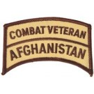 Afghanistan Cbt Vet Patch/Small