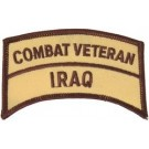 Iraq Cbt Vet Patch/Small