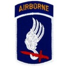 173rd A/B Div Patch/Small