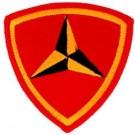 3rd Marine Div Patch/Small