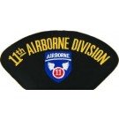 11th A/B Div Patch/Small