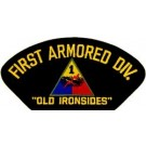 1st Armored Div Patch/Small