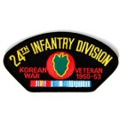 Korea 24th Inf Vet Patch/Small