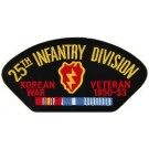 Korea 25th Inf Vet Patch/Small