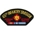 Korea 45th Inf Vet Patch/Small