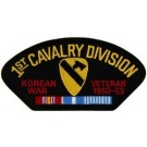 Korea 1st Cav Vet Patch/Small