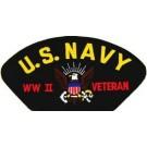 USN WW II Vet Patch/Small