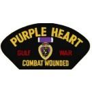 Gulf War Purple Heart Patch/Small