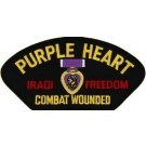 Iraq Purple Heart Patch/Small