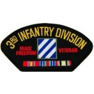 Iraq 3rd Inf Vet Patch/Small