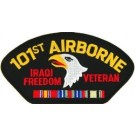 Iraq 101st A/B Div Vet Patch/Small