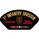 Iraq 1st Inf Div Patch/Small