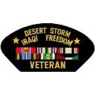 Desert Storm/Iraq Vet Patch/Small