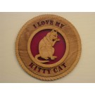 My Kitty Plaque