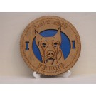 Doberman Pincher Desktop Plaque