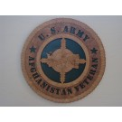 US Army Veteran Afghanistan Plaque