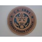 US Army Veteran Desert Storm Plaque
