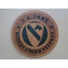 US Army Veteran Desert Storm 1st Cav Plaque