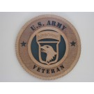 US Army 101st AB Plaque