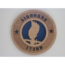 US Army 173rd AB Plaque