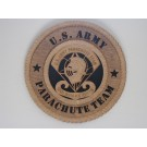 US Army Parachute Team Golden Knights Plaque