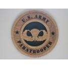 US Army Paratrooper Plaque