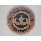 US Army Master Paratrooper Plaque