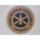 Air Defense Artillery Veteran Plaque