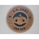 US Army 3rd ARC Brave Rifles Plaque