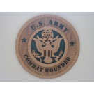 US Army Combat Wounded Plaque