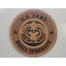 US Army Drill Sergeant Plaque