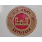 US Army Engineers Plaque