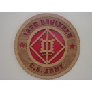 US Army 18th Engineer Plaque
