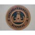 US Army Explosives Ordnance Disposal Master Plaque