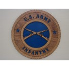 US Army Infantry Plaque