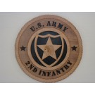 US Army 2nd Infantry Plaque
