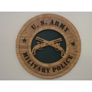 US Army Military Police Plaque
