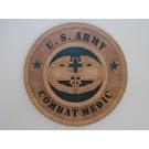 US Army Combat Medic Plaque