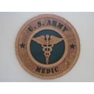 US Army Medic Plaque