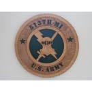 US Army Military Intelligence 513th Plaque