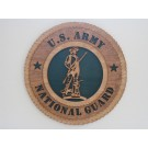 US Army National Guard Minuteman Plaque