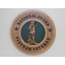 National Guard Veteran Vietnam Plaque
