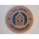 US Army 1st Sergeant Plaque