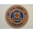 US Army Finance Plaque