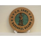 National Guard Desktop Plaque