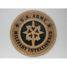 US Army Military Intelligence Plaque