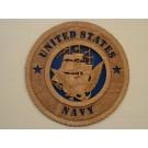 United States Navy Plaque