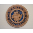 US Navy Veteran Desert Storm Plaque
